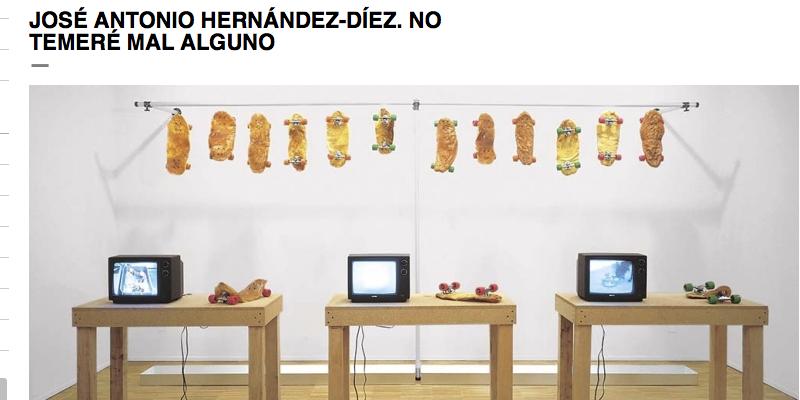 José Antonio Hernández-Diez en el MACBA