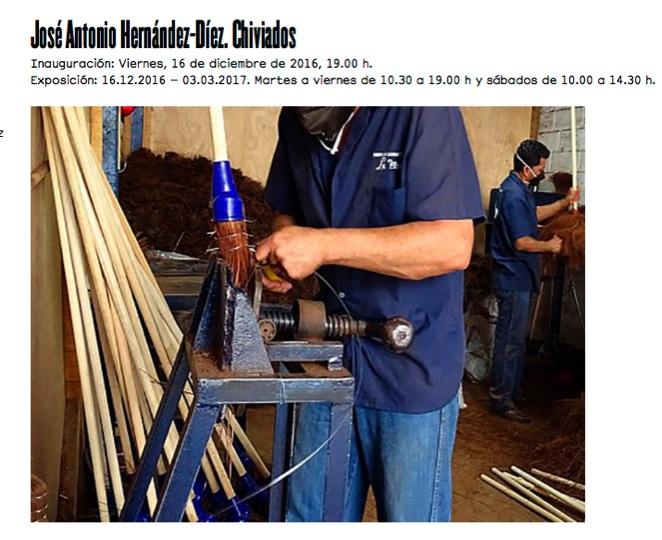 José Antonio Hernández-Diez y su individual en la Galería Estrany-de la Mota, Barcelona, España