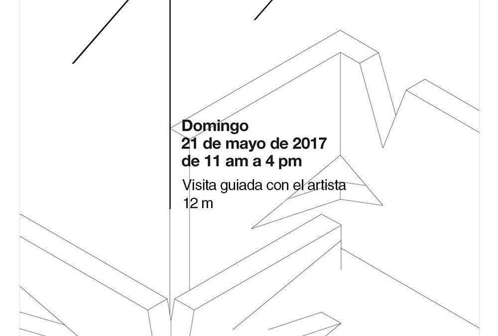 Clausura de Angulares / Vicente Antonorsi con visita guiada del artista