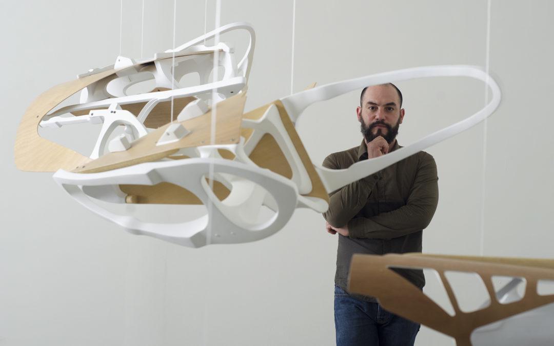 """Tráfico Visual entrevista a Jesús Moreno acerca de su exposición """"I/O"""" en Espacio Monitor"""